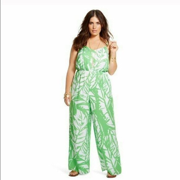 686305c20c6 Lilly Pulitzer for Target Pants - Lilly Pulitzer for Target Green White  Jumpsuit M